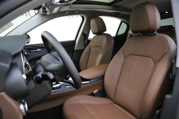 New 2021 Alfa Romeo Stelvio Q4 for sale $48,835 at Maserati of Westport in Westport CT 06880 15