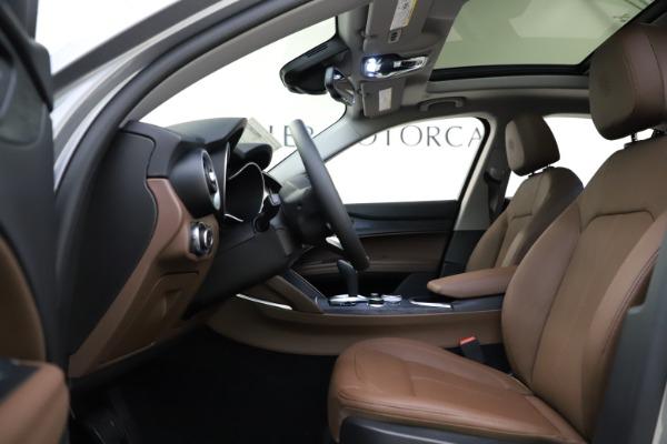 New 2021 Alfa Romeo Stelvio Q4 for sale $48,835 at Maserati of Westport in Westport CT 06880 16