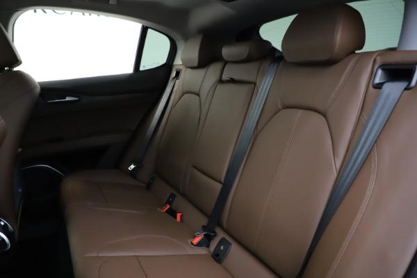 New 2021 Alfa Romeo Stelvio Q4 for sale $48,835 at Maserati of Westport in Westport CT 06880 19