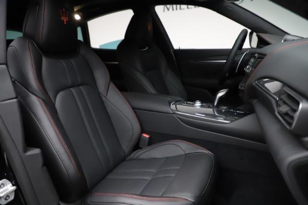 New 2021 Maserati Levante Q4 GranSport for sale $94,985 at Maserati of Westport in Westport CT 06880 23