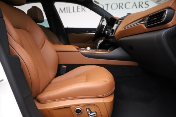 New 2021 Maserati Levante Q4 GranLusso for sale $89,535 at Maserati of Westport in Westport CT 06880 21