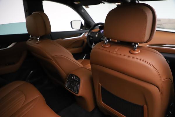 New 2021 Maserati Levante Q4 GranLusso for sale $89,535 at Maserati of Westport in Westport CT 06880 25