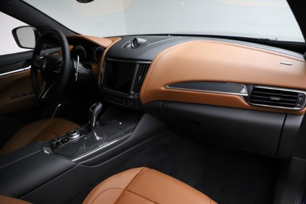 New 2021 Maserati Levante S Q4 GranSport for sale $100,185 at Maserati of Westport in Westport CT 06880 22