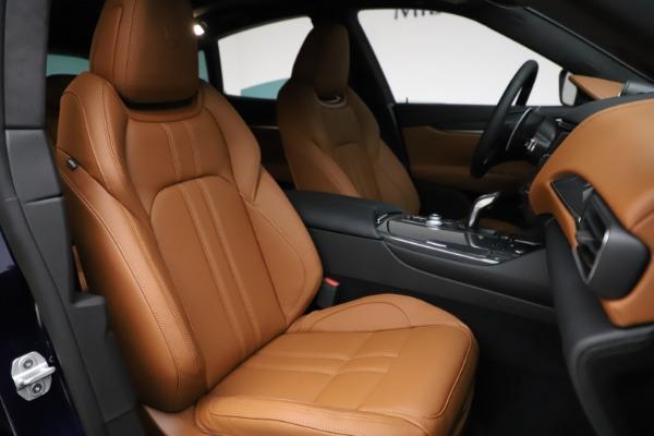 New 2021 Maserati Levante S Q4 GranSport for sale $100,185 at Maserati of Westport in Westport CT 06880 24