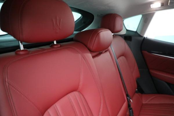 New 2021 Maserati Levante Q4 for sale $76,769 at Maserati of Westport in Westport CT 06880 24