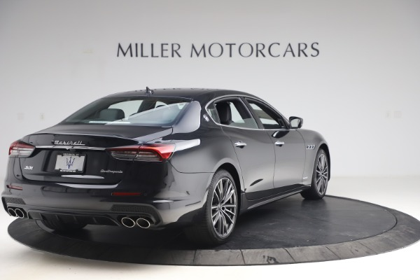 New 2021 Maserati Quattroporte S Q4 GranSport for sale $129,185 at Maserati of Westport in Westport CT 06880 7