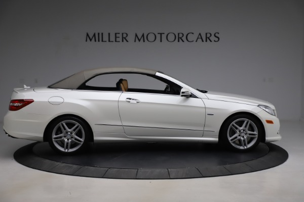 Used 2012 Mercedes-Benz E-Class E 550 for sale Call for price at Maserati of Westport in Westport CT 06880 17