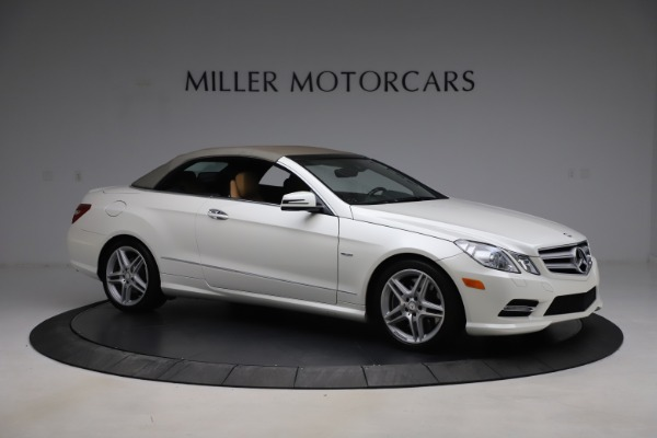 Used 2012 Mercedes-Benz E-Class E 550 for sale Call for price at Maserati of Westport in Westport CT 06880 18