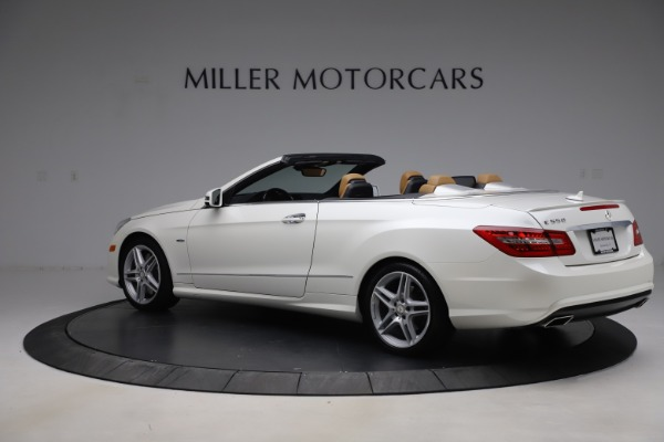 Used 2012 Mercedes-Benz E-Class E 550 for sale Call for price at Maserati of Westport in Westport CT 06880 3