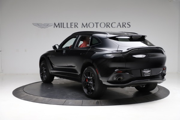 New 2021 Aston Martin DBX SUV for sale $200,986 at Maserati of Westport in Westport CT 06880 4