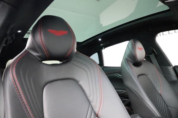 New 2021 Aston Martin DBX for sale $212,686 at Maserati of Westport in Westport CT 06880 22