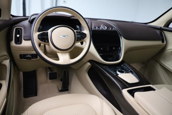 New 2021 Aston Martin DBX for sale $215,386 at Maserati of Westport in Westport CT 06880 13