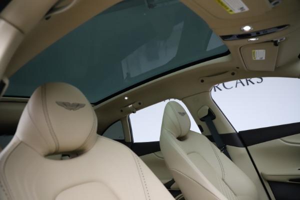 New 2021 Aston Martin DBX for sale $215,386 at Maserati of Westport in Westport CT 06880 25