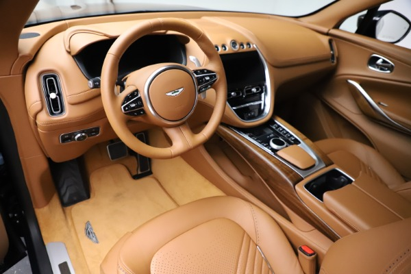 New 2021 Aston Martin DBX SUV for sale $221,386 at Maserati of Westport in Westport CT 06880 12
