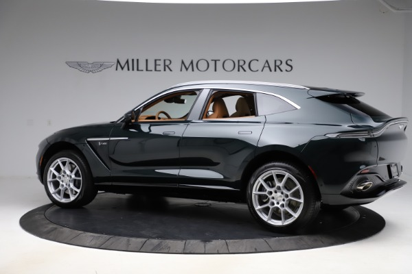 New 2021 Aston Martin DBX SUV for sale $221,386 at Maserati of Westport in Westport CT 06880 3