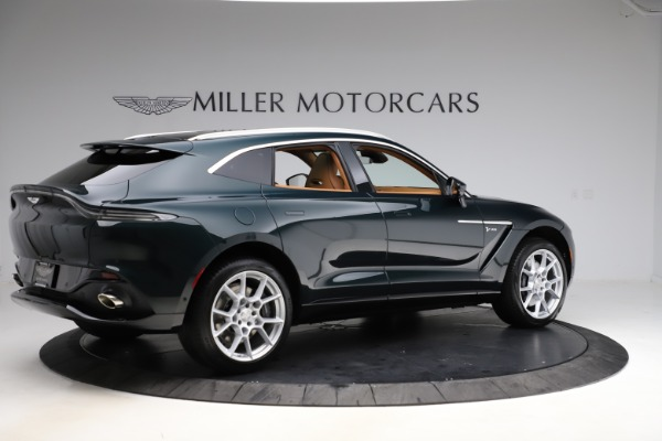 New 2021 Aston Martin DBX SUV for sale $221,386 at Maserati of Westport in Westport CT 06880 7