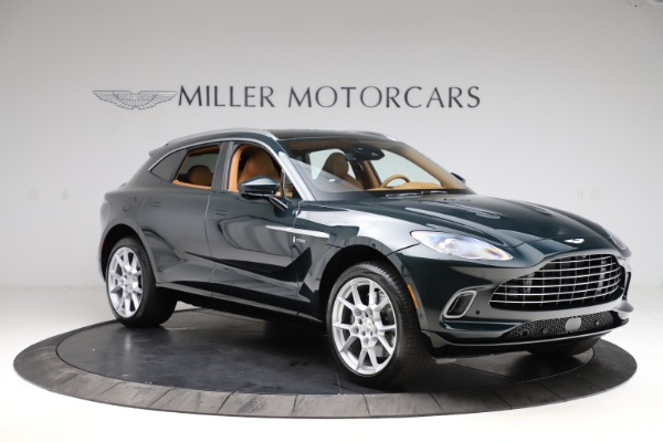 New 2021 Aston Martin DBX SUV for sale $221,386 at Maserati of Westport in Westport CT 06880 9