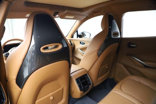 New 2021 Aston Martin DBX for sale $264,386 at Maserati of Westport in Westport CT 06880 18