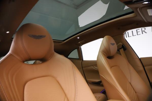 New 2021 Aston Martin DBX SUV for sale $264,386 at Maserati of Westport in Westport CT 06880 21