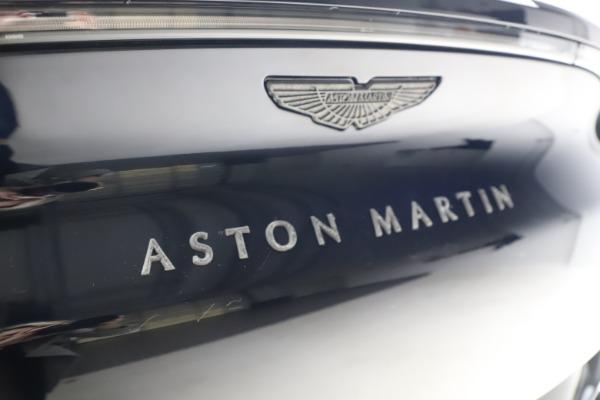New 2021 Aston Martin DBX for sale $264,386 at Maserati of Westport in Westport CT 06880 25