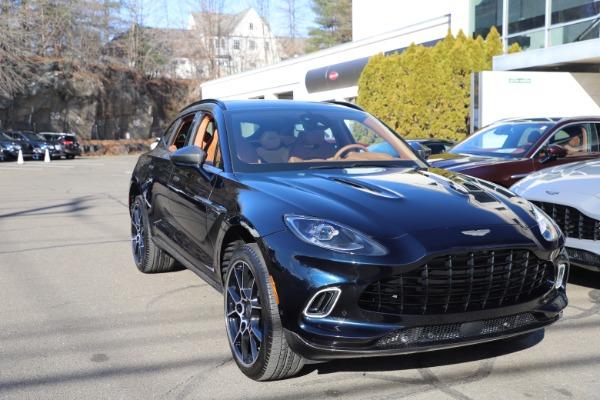 New 2021 Aston Martin DBX SUV for sale $264,386 at Maserati of Westport in Westport CT 06880 28