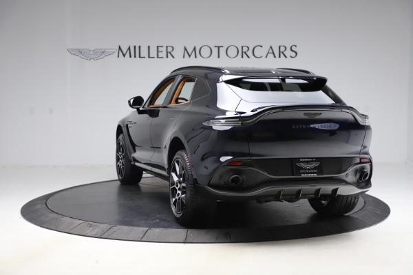 New 2021 Aston Martin DBX SUV for sale $264,386 at Maserati of Westport in Westport CT 06880 4