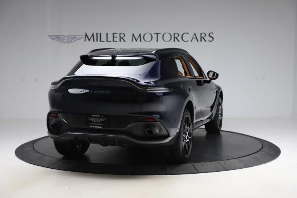 New 2021 Aston Martin DBX SUV for sale $264,386 at Maserati of Westport in Westport CT 06880 6