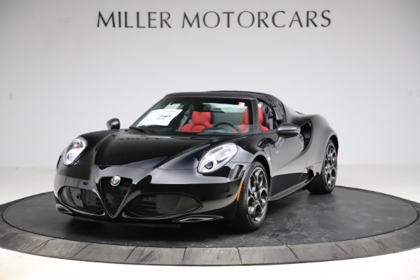 New 2020 Alfa Romeo 4C Spider for sale $75,445 at Maserati of Westport in Westport CT 06880 1