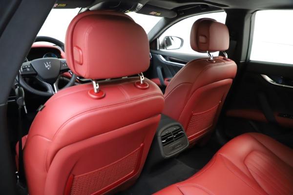 New 2021 Maserati Ghibli S Q4 GranLusso for sale $95,835 at Maserati of Westport in Westport CT 06880 21