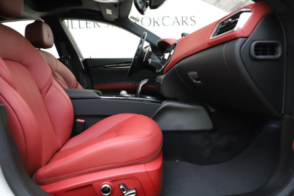 New 2021 Maserati Ghibli S Q4 GranLusso for sale $95,835 at Maserati of Westport in Westport CT 06880 23