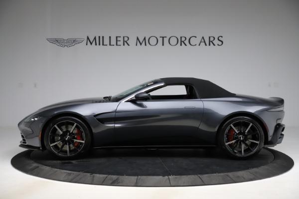 New 2021 Aston Martin Vantage Roadster Convertible for sale Sold at Maserati of Westport in Westport CT 06880 13