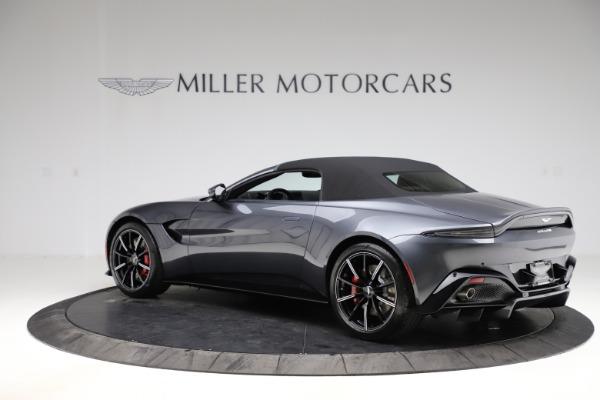 New 2021 Aston Martin Vantage Roadster Convertible for sale Sold at Maserati of Westport in Westport CT 06880 14