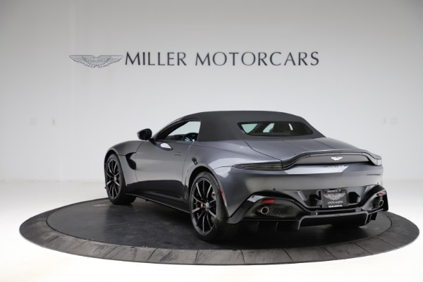 New 2021 Aston Martin Vantage Roadster Convertible for sale Sold at Maserati of Westport in Westport CT 06880 15