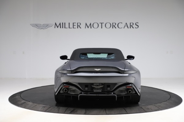 New 2021 Aston Martin Vantage Roadster Convertible for sale Sold at Maserati of Westport in Westport CT 06880 16