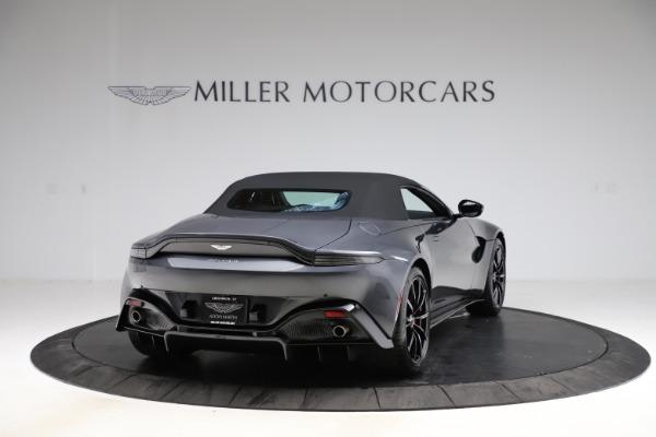New 2021 Aston Martin Vantage Roadster Convertible for sale Sold at Maserati of Westport in Westport CT 06880 17