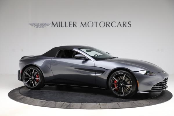 New 2021 Aston Martin Vantage Roadster Convertible for sale Sold at Maserati of Westport in Westport CT 06880 20