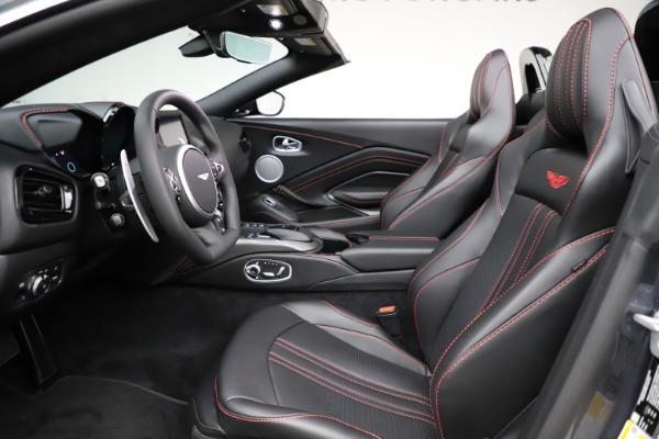 New 2021 Aston Martin Vantage Roadster Convertible for sale Sold at Maserati of Westport in Westport CT 06880 21