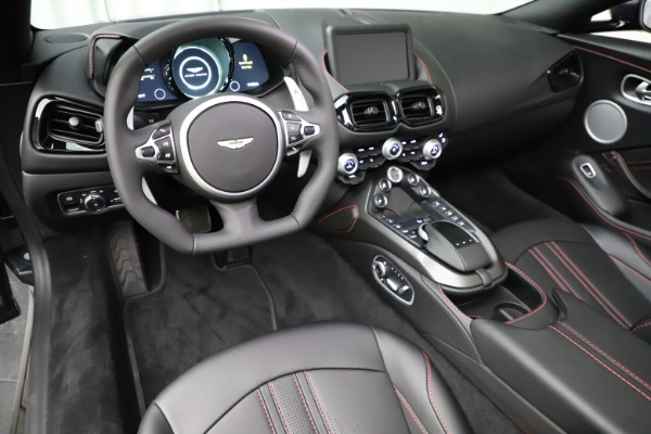 New 2021 Aston Martin Vantage Roadster Convertible for sale Sold at Maserati of Westport in Westport CT 06880 22