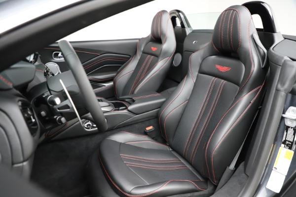 New 2021 Aston Martin Vantage Roadster Convertible for sale Sold at Maserati of Westport in Westport CT 06880 23