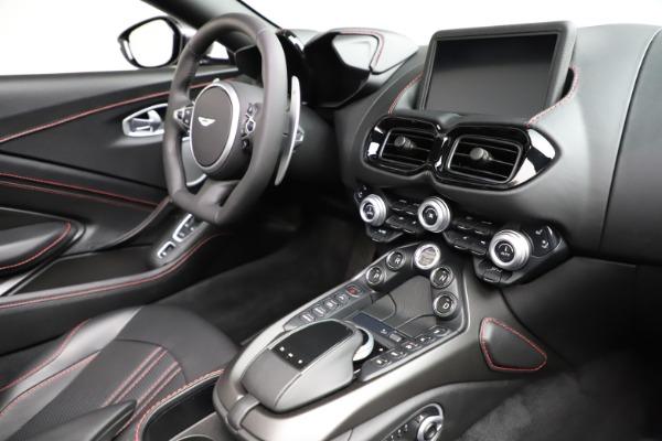 New 2021 Aston Martin Vantage Roadster Convertible for sale Sold at Maserati of Westport in Westport CT 06880 26