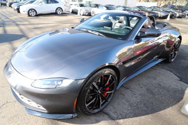 New 2021 Aston Martin Vantage Roadster Convertible for sale Sold at Maserati of Westport in Westport CT 06880 28