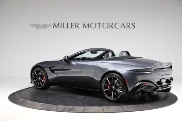 New 2021 Aston Martin Vantage Roadster Convertible for sale Sold at Maserati of Westport in Westport CT 06880 3