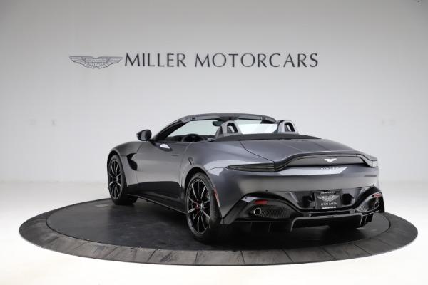 New 2021 Aston Martin Vantage Roadster Convertible for sale Sold at Maserati of Westport in Westport CT 06880 4