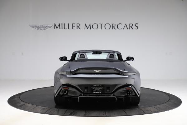 New 2021 Aston Martin Vantage Roadster Convertible for sale Sold at Maserati of Westport in Westport CT 06880 5