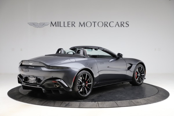 New 2021 Aston Martin Vantage Roadster Convertible for sale Sold at Maserati of Westport in Westport CT 06880 7