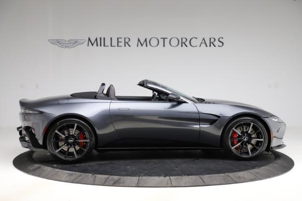 New 2021 Aston Martin Vantage Roadster Convertible for sale Sold at Maserati of Westport in Westport CT 06880 8