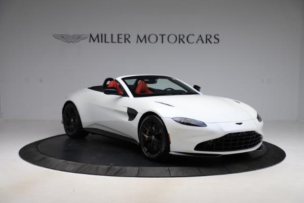 New 2021 Aston Martin Vantage Roadster Convertible for sale $189,186 at Maserati of Westport in Westport CT 06880 10