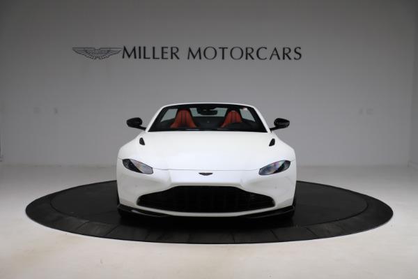 New 2021 Aston Martin Vantage Roadster Convertible for sale $189,186 at Maserati of Westport in Westport CT 06880 11