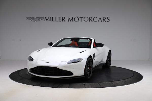 New 2021 Aston Martin Vantage Roadster Convertible for sale $189,186 at Maserati of Westport in Westport CT 06880 12