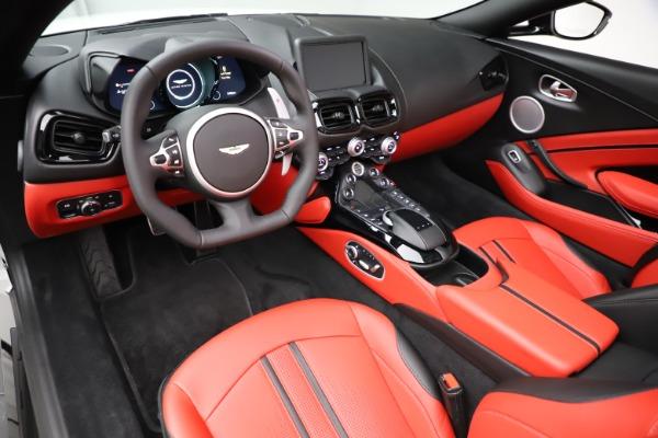 New 2021 Aston Martin Vantage Roadster Convertible for sale $189,186 at Maserati of Westport in Westport CT 06880 13